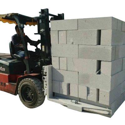 油圧フォークリフトコンクリートレンガブロックリフティングクランプ