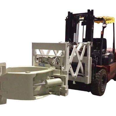 フォークリフトタイヤハンドリングアタッチメントテレスコピックタイヤクランプ