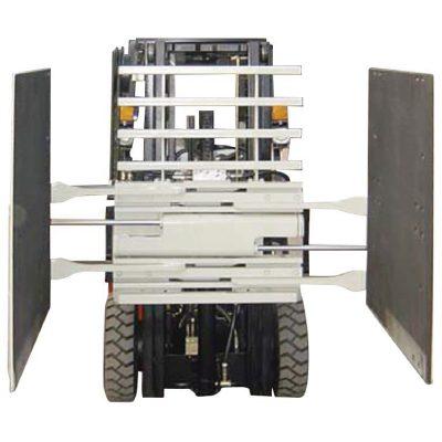 フォークリフトアタッチメントカートンクランプクラス3および1220 * 1420 mmアームサイズ