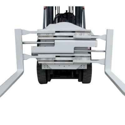 1220 mmの長さのクラス2のフォークリフトの付属品の回転フォーククランプ
