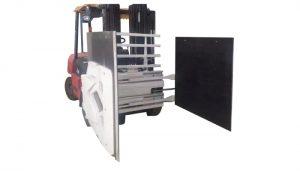 フォークリフト用カートンクランプ、フォークリフトアタッチメントカートンクランプ、カートンハンドラー。