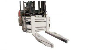フォークリフトアタッチメント油圧ブロッククランプ