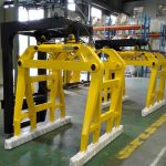 販売のための高品質フォークリフトコンクリートベル型ブロッククランプ