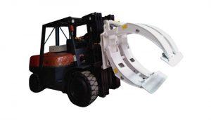マテリアルハンドリング機器フォークリフトペーパーロールクランプ